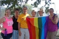 UUFB members at Charleston Pride Festival 2013