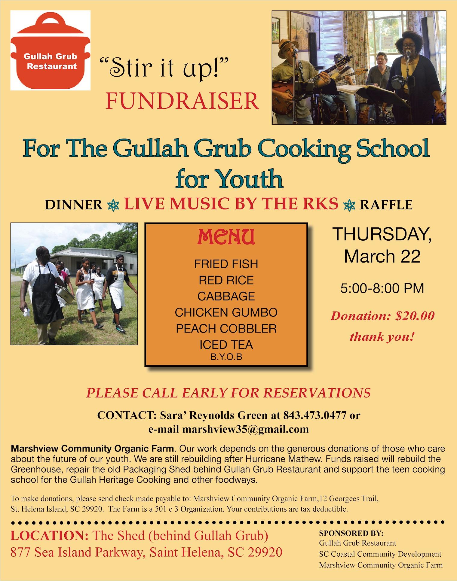 Gullah Grub | Unitarian Universalist Fellowship of Beaufort