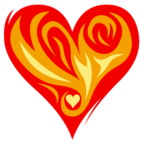 fire heart picture