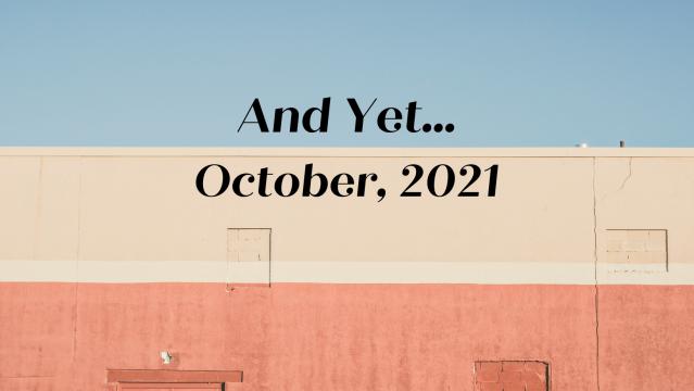 2021 October Banner
